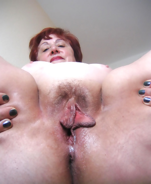 old and used, but still wet and horny