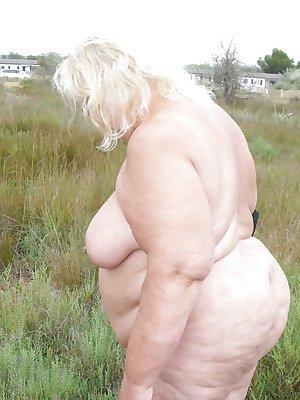Horny older BBW