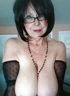 Granny, Mature, Older   Gorgeous BOOBS 3