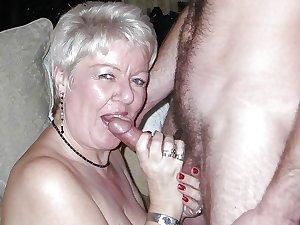 Grannies mature milf blowjob handjob sucking 6