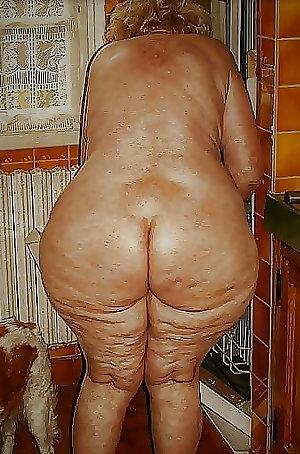 BBW und Granny - Hintern die mich geil machen