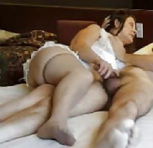 Granny with perfect ass
