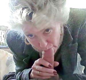 Granny still loves a stiff dick