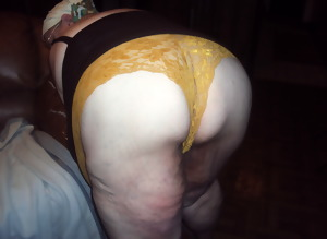 gold panties