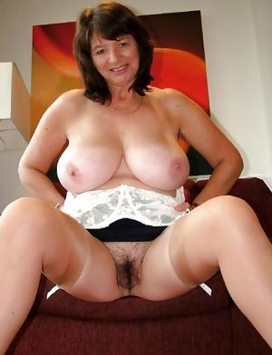 Sexy Hairy Grandmother