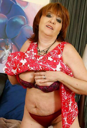 Grandma her saggy tits 17.