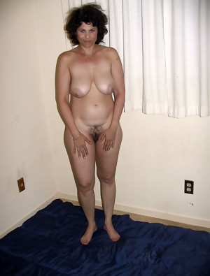 Matures of all shapes and sizes hairy and shaved 42
