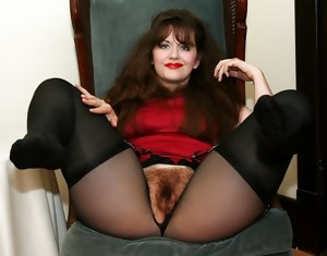 Hairy Matures In Pantyhose