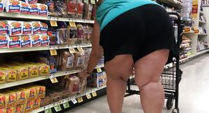 Chunky SSBBW granny