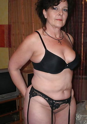 Granny & Mature bra and panties