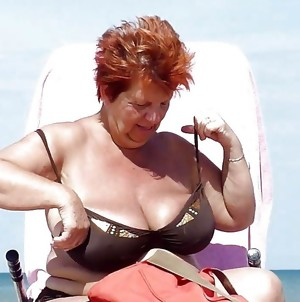 This horny granny slut really wants a cock