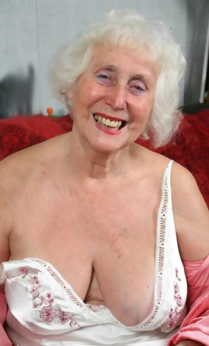 This horny granny slut really wants a cock