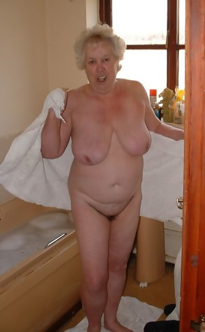 Naughty over fifty years gran
