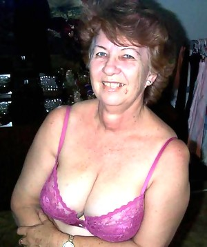 This horny granny slut really loves her toy