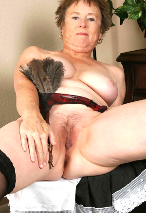 This chubby granny nympho wants cock