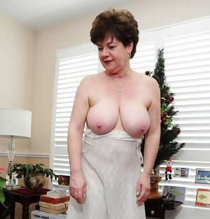 The young men have big dicks and the granny wants them to fuck her sexy pussy hard