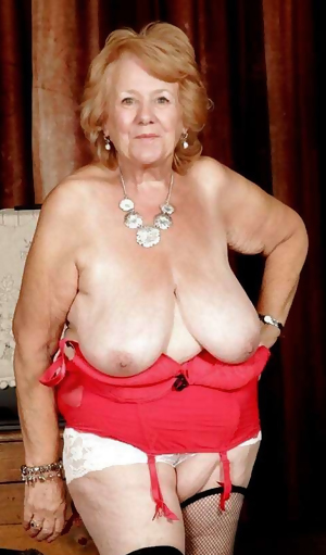 this huge horny granny slut wants cock