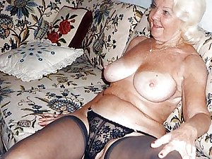 This granny cunt wants a hard cock
