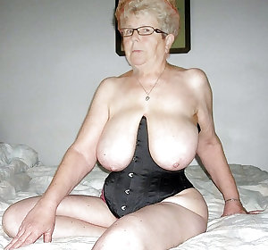 This kinky granny nympho loves to suck black cocks