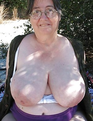 This granny hussy wants a big black cock to ride on