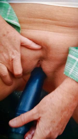 Matures grannies milfs filling cunt and ass 24