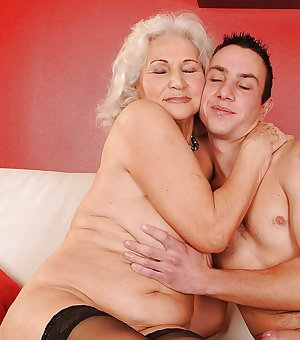 Granny Slut Fucked by Young Cock