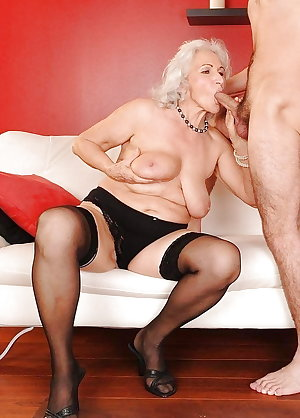 Granny Slut Fucked by Young Cock