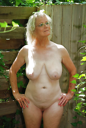 Granny loves being NAKED - 2