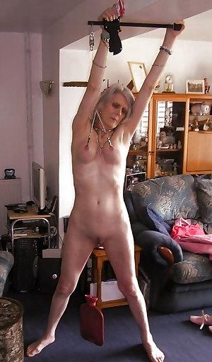 Granny loves bdsm sweet submissive mature slave