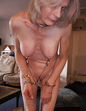 Granny loves bdsm sweet submissive mature slave
