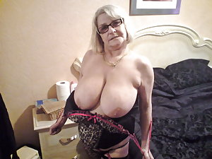 Granny Grandma Old Ladies in Heels Lingerie 9