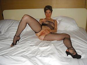 Granny , Mature...Nana's sexy STOCKINGS 5