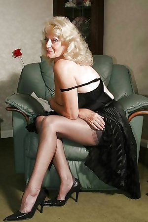 Granny , Mature...Nana's sexy STOCKINGS 3