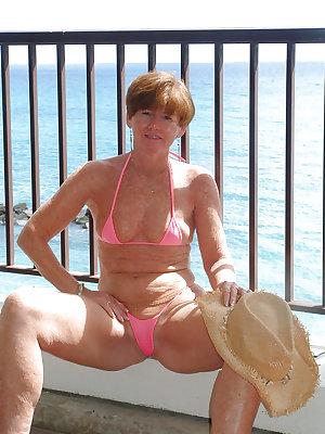 Granny , Mature...Nana is so hot in BIKINI 2