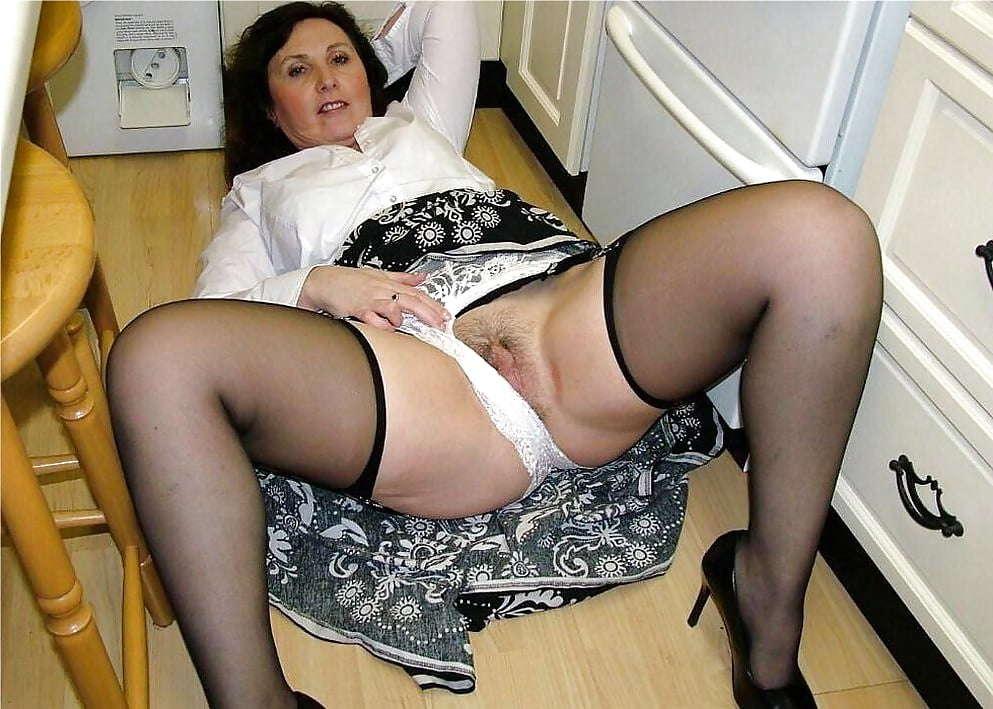 Panty clad mature women